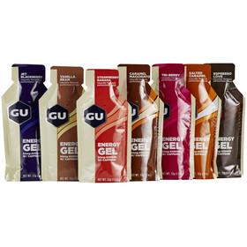 GU Energy Gel - Nutrición deportiva - Diferentes sabores 7 x 32g